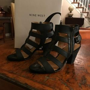 Nine West, worn once gladiator sandals 💜